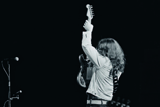 Rory Gallagher from Looking Back The Changing Faces of Ireland by Eric Luke