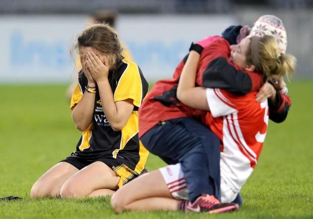 Aisling O'Sullivan dejected