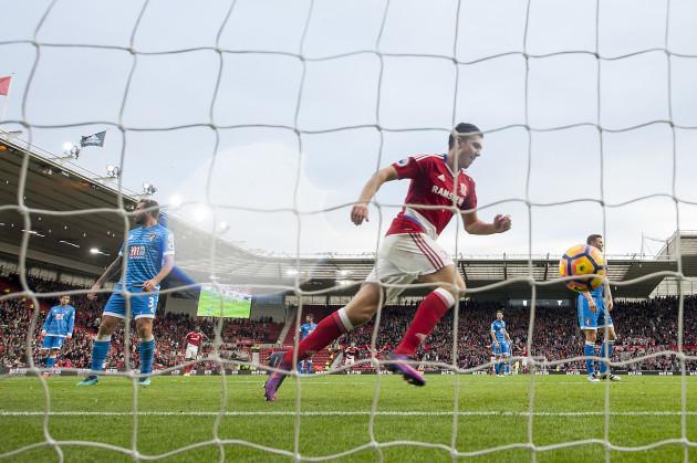Middlesbrough v AFC Bournemouth - Premier League - Riverside Stadium
