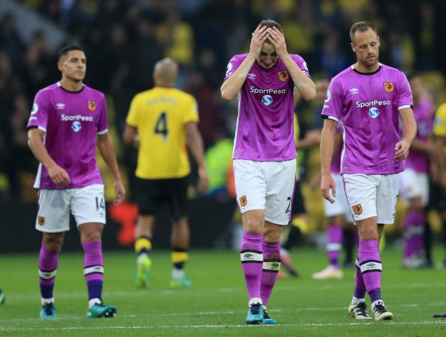 Watford v Hull City - Premier League - Vicarage Road