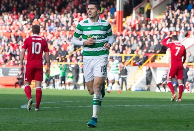 Aberdeen v Celtic - Ladbrokes Scottish Premiership - Pittodrie Stadium