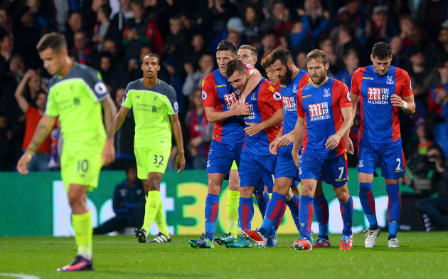 Crystal Palace v Liverpool - Premier League - Selhurst Park