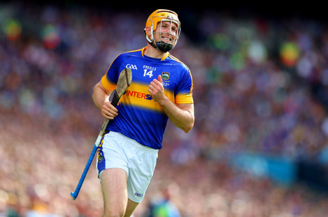 Seamus Callanan reacts to a missed chance