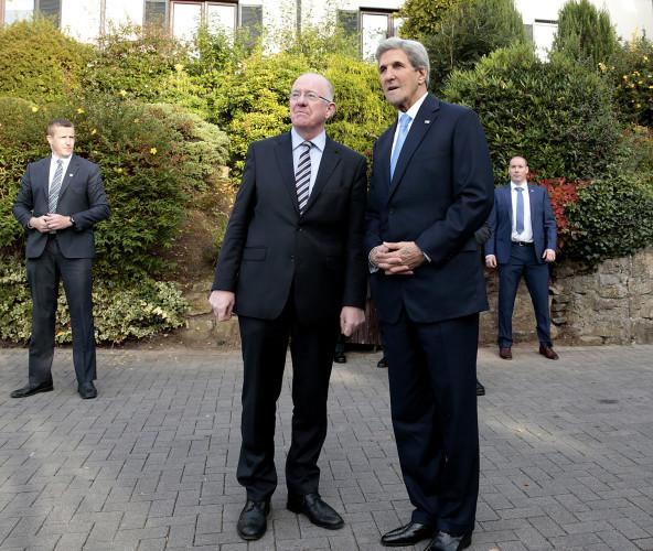 The United States Secretary of State, John Kerry i