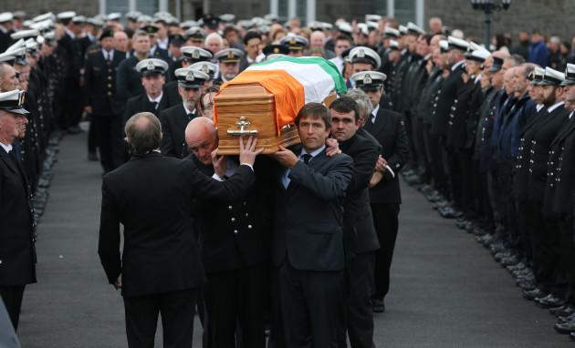 Caitriona Lucas funeral