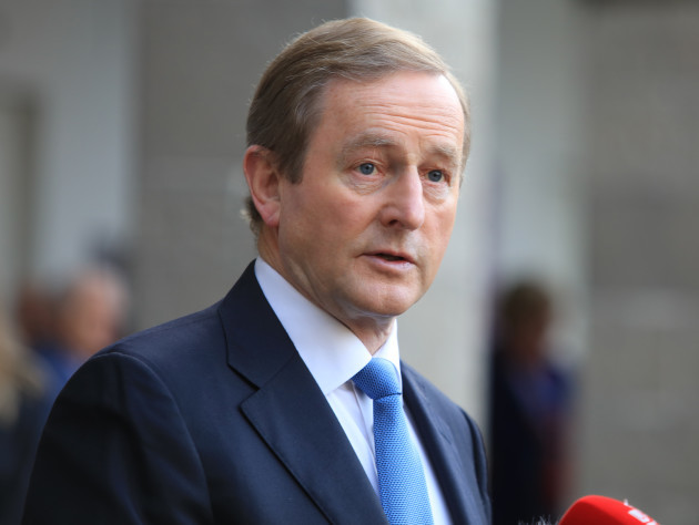 2/11/2016. Brexit Conference. Taoiseach Enda Kenny