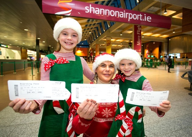 Shannoin Airport Santa Flights 2015