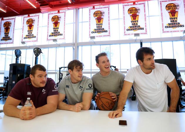Jack McGrath, Andrew Trimble, Craig Gilroy and Jared Payne