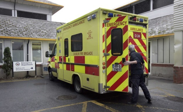 File photo Safety notices have been issued to all staff to carry out basic checks on oxygen equipment in ambulances following the death of a man in an ambulance fire at Naas General Hospital. Naas General Hospital in County Kildare, where an agency nurse
