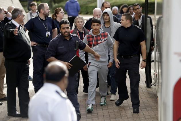Britain Europe Migrants