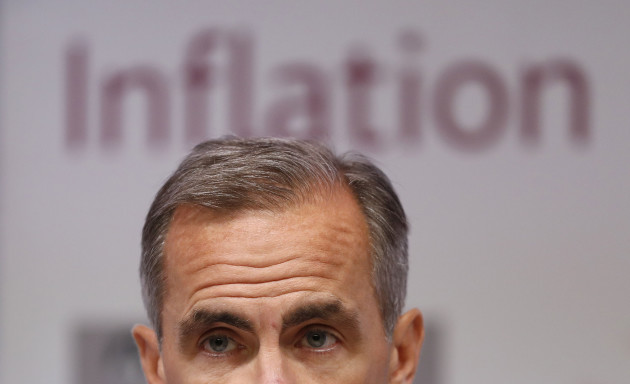 BoE quarterly Inflation Report press conference