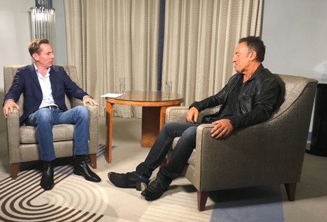 Ryan Tubridy and Bruce Springsteen 1