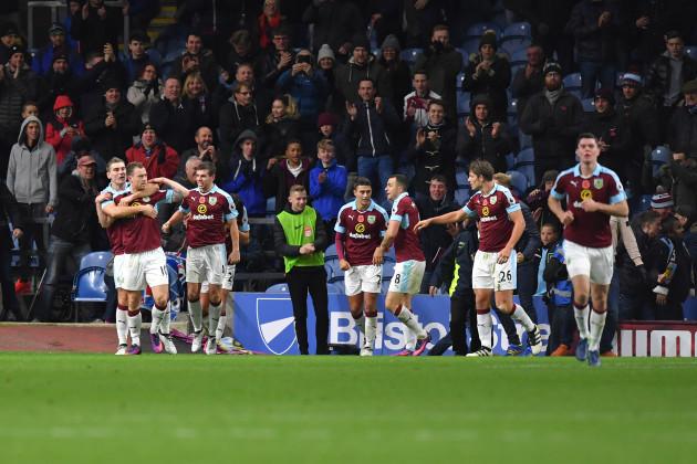 Burnley v Crystal Palace - Premier League - Turf Moor