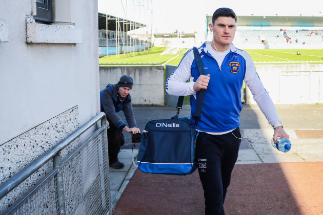 Diarmuid Connolly arrives for the game