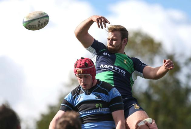 Conor Joyce in action