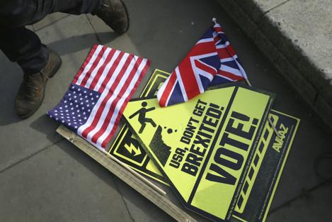 Britain US 2016 Election