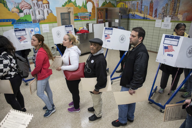 2016 Election New York Voting