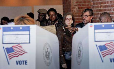 2016 Election Voting New York