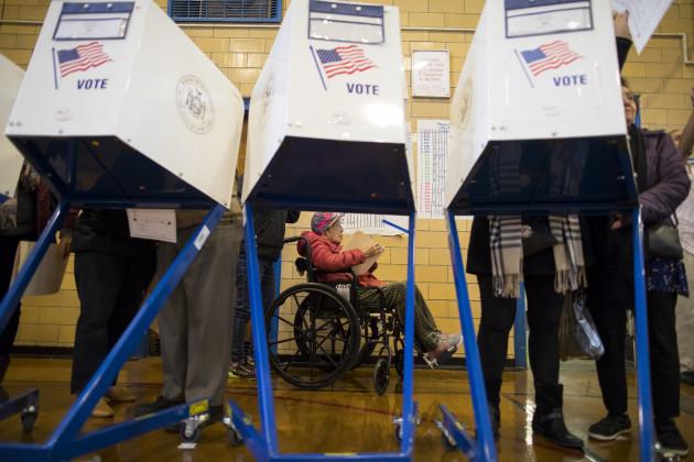 2016 Election New York Voting