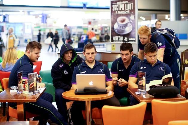 Conan OÕDonnell, AJ MacGinty, Craig Ronaldson, Danny Qualter, Darragh Leader and Dave Heffernan
