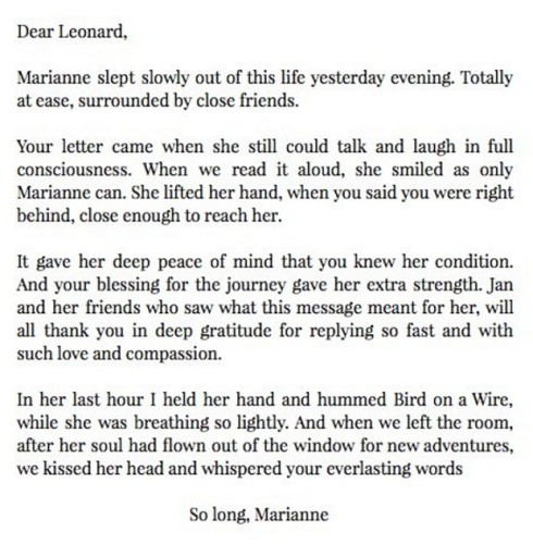 Long letters to your girlfriend