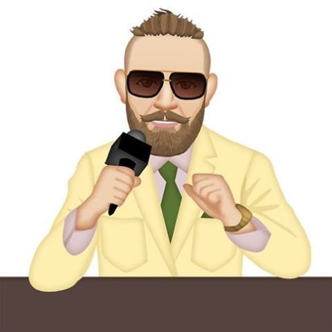 I AM THE KING OF NEW YORK! Final press conference before UFC 205 is NOW www.macmojiapp.com