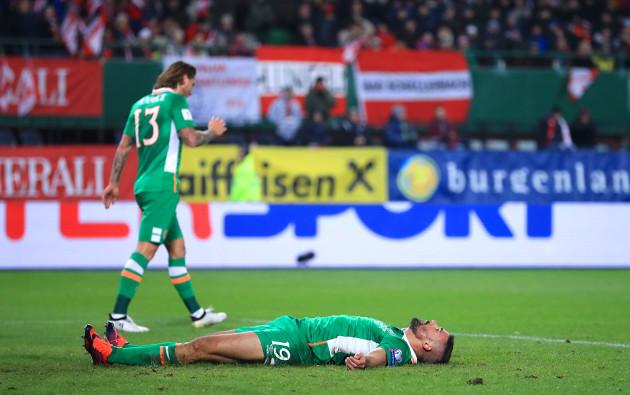 Austria v Republic of Ireland - 2018 FIFA World Cup Qualifying - Group D - Ernst-Happel-Stadion