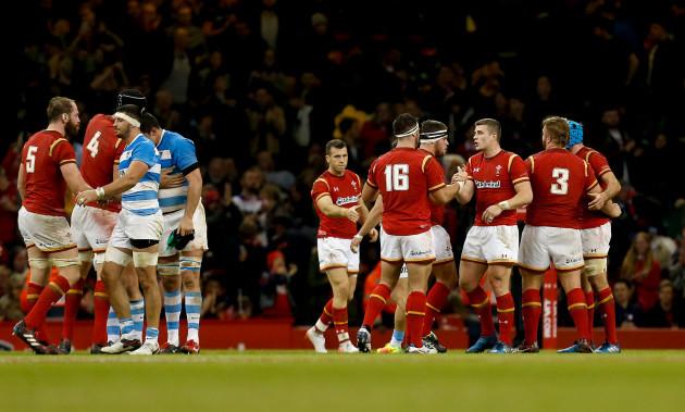 Wales v Argentina - Autumn International - Principality Stadium