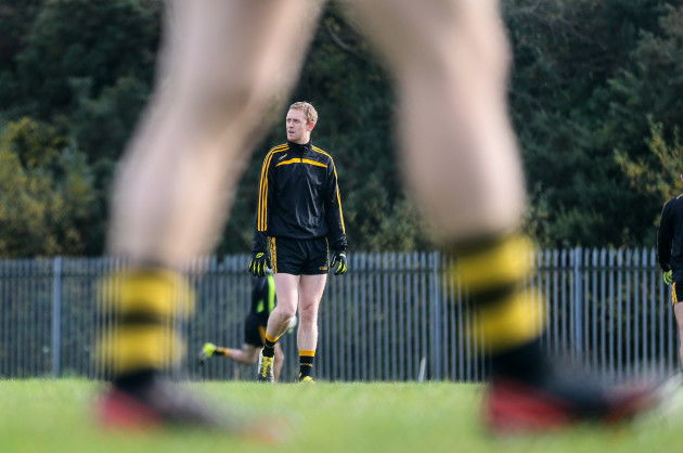Colm Cooper during the warm ups