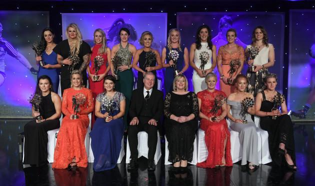 TG4 Ladies Football All Stars awards
