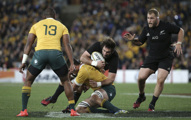 Australia New Zealand Rugby Test