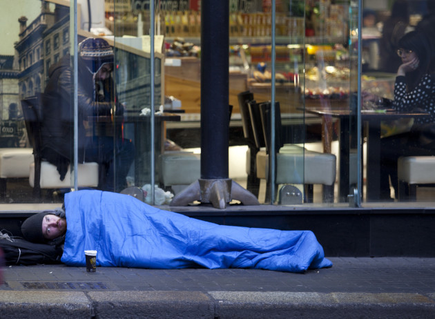 12/2/2015. Sleeping Rough on the Streets