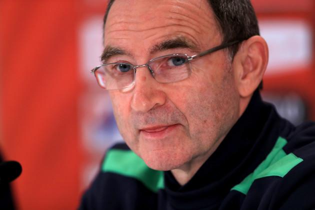 Republic of Ireland Training and Press Conference - Ernst-Happel Stadium