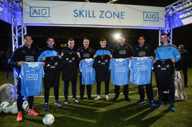 Dublin GAA / All Blacks AIG Skills Challenge