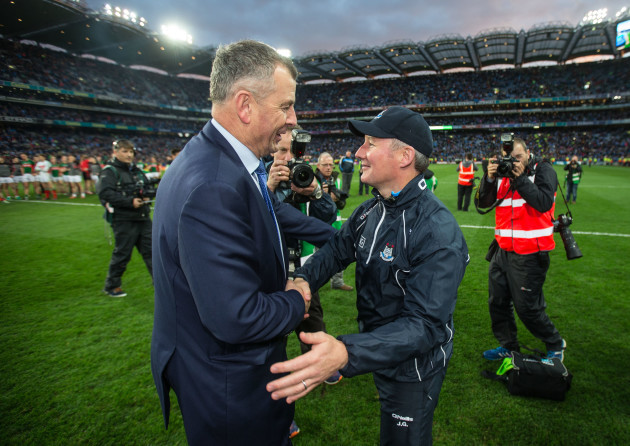 John Costello with Jim Gavin