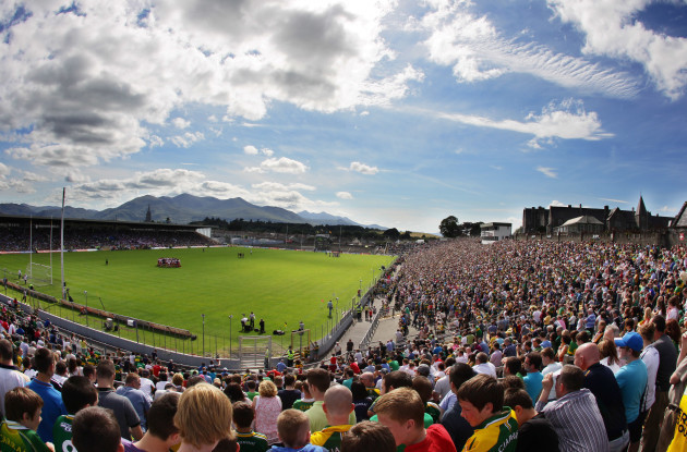 General view of Fitzgerald Stadium, Killarney