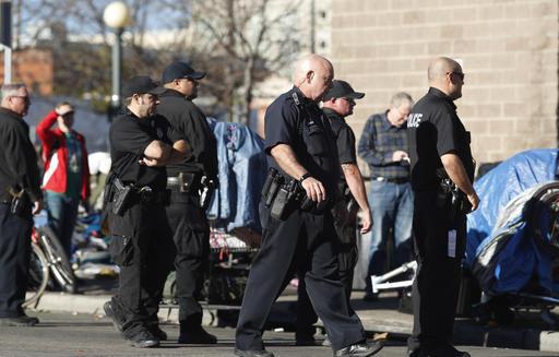 Denver Police Department officers