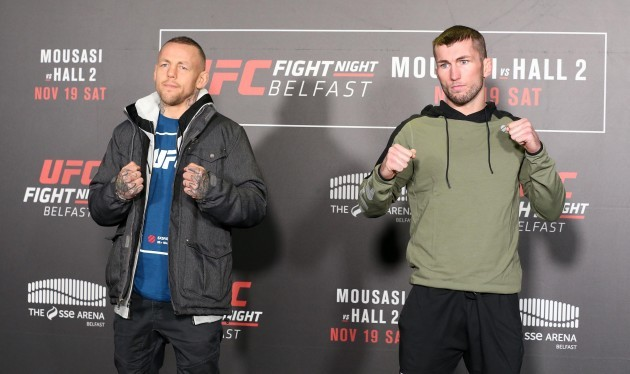 Ross Pearson and Stevie Ray