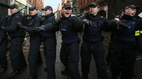 Dublin anti-racism demonstration