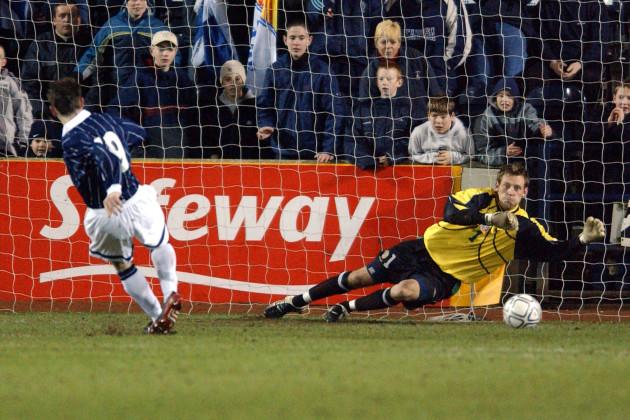 Soccer - Under 21 International Friendly - Scotland v Republic Of Ireland