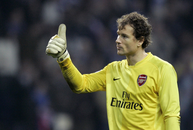 Germany Soccer Dortmund Arsenal Lehmann