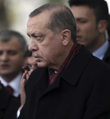 Turkey Erdogan Funeral