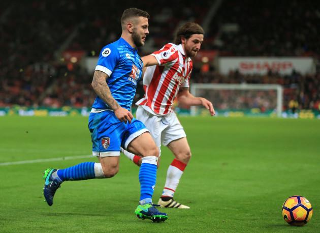 Stoke City v AFC Bournemouth - Premier League - The Bet365 Stadium