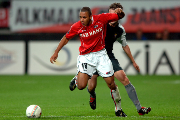 Soccer - UEFA Cup - Group C - AZ Alkmaar v Braga - DSB Stadium