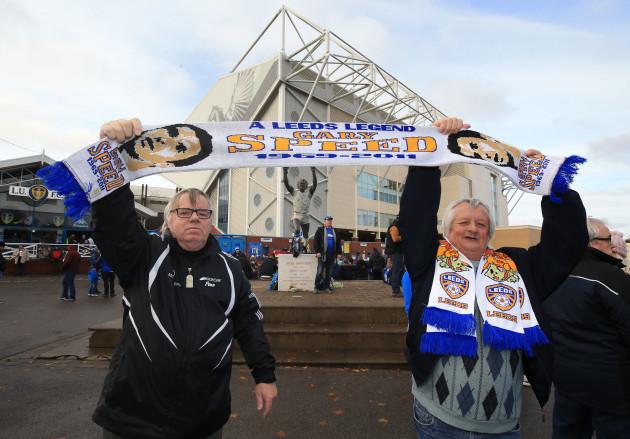 Leeds United v Newcastle United - Sky Bet Championship - Elland Road