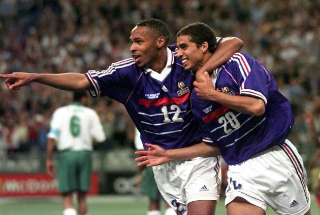 Soccer - World Cup - Group C - France v Italy - Stade De France - France