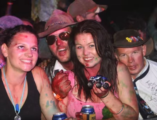 Australian outback sex party