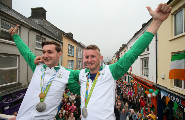 Gary and Paul O'Donovan Homecoming - Skibbereen