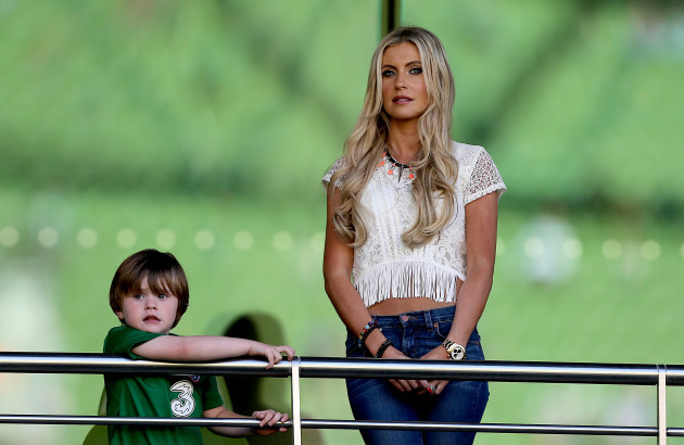 Claudine Keane with her son Robbie