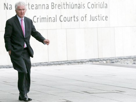 File Photo. 3/11/2016. Former CEO and Chairman of Anglo Irish Bank will face trial tomorrow when the prosecution will call its first witness. He is charged with making misleading, false or deceptive statements to auditors Ernst & Young between 2002 and 20